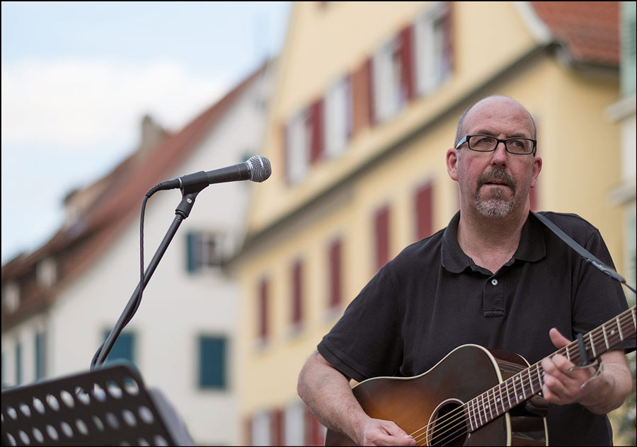 Musiker in Rottenburg