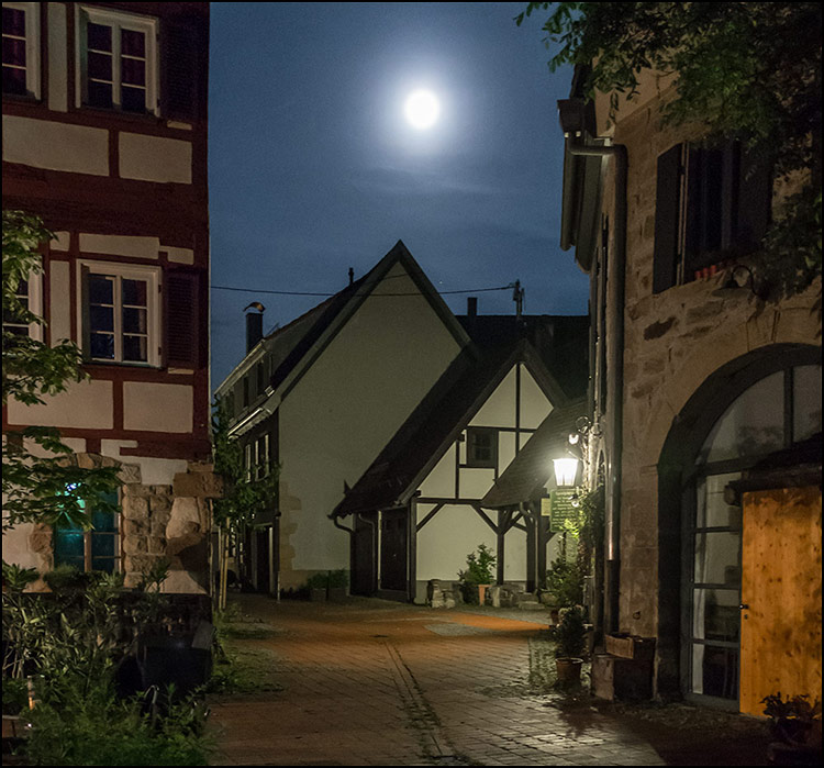 Sommernacht in Rottenburg