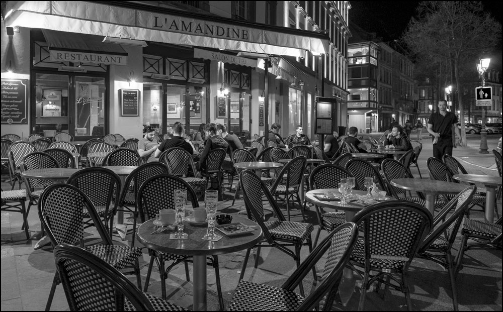 Colmar bei Nacht