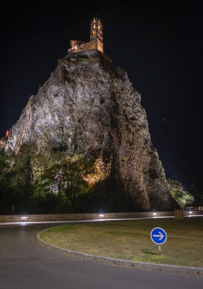 Le Puy nachts