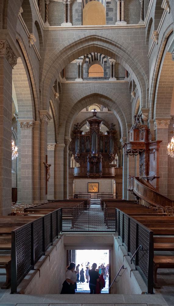Kathedrale mit Aufgang